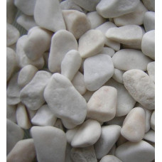 Галька белая 10-20мм (5кг)