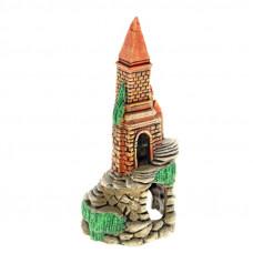 Замок высокий с башнями
